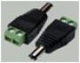 "3-224 Разъем питания 5.5x2.1x14.0мм ""шт"" пластик на кабель, винт, (PDC-MS)"