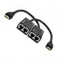 5-876 Удлинитель HDMI 1.4 - комплект (передатчик + приемник) до 30 метров по двум UTP