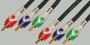 "Шнур 3 x RCA ""шт"" - 3 x RCA ""шт"" COMPONENT/RGB PRO-class пластик ""позолоченный"" OD5.0x15.0мм 2.0м В БЛИСТЕРЕ"