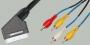 "Шнур SCART ""шт"" - 4 x RCA ""шт"" OD2.6x10.4мм 1.0м"