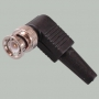 "Разъем BNC ""шт"" угловой пластик на кабель RG-58, RG-59, RG-6"