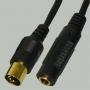 "ереход DIN 5 pin ""шт"" - 6.35мм ""гн"" стерео пластик ""позолоченный"" с кабелем 0,3м"