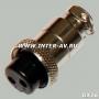 """Разъем GX16 12M 2 контакта """"розетка"""" на кабель (GX12-А-2S)"""