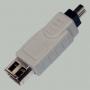 """Переход IEEE 1394 4P """"шт"""" - IEEE 1394 6P """"гн"""""""