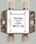 Ответвитель на 2 отвода 15DB 5-2400MHz с проходом питания, TAIWAN