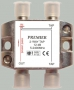 Ответвитель на 2 отвода 18DB 5-2400MHz с проходом питания, TAIWAN