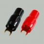 """7-117 Клемма питания для авто усилителя тип """"U"""" под кабель 25мм2  """"позолоченная"""""""