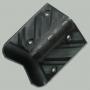 """9-110 Уголок защитный для колонок , кейсов , для корпусов РЭА пластмассовый 3"""" 48х48х78мм"""
