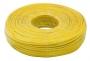Кабель телефонный  4 жилы  100м CCS желтый  (ШТЛП-4)