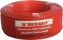 Провод монтажный (автомобильный) 2.5 мм² 100м красный    (ПГВА)  REXANT
