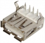 РАЗЪЁМ  Гнездо на плату 1*USB-A (металл)