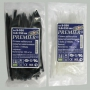 Стяжки кабельные (хомуты) нейлоновые 3.0мм x 150мм (100шт.) черные