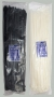 Стяжки кабельные (хомуты) нейлоновые 8.0мм x 500мм (100шт.) белые