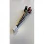 Разъемы для автомагнитол  ISO - CLARION 16 pin