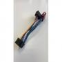 Разъемы для автомагнитол  ISO - JVC 16 pin