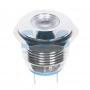 Индикатор металл Ø16 12В подсв/белая LED, 36-4814