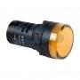 Индикатор Ø30 220V желтый LED, 36-3382