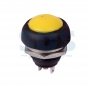 Выключатель-кнопка 250V 1А (2с) (ON)-OFF Б/Фикс желтая Micro, 36-3052