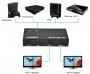 "Делитель HDMI сигнала с усилителем 1 х HDMI ""ВХОД"" - 2 x HDMI ""ВЫХОД"""