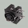 Разъем mini DIN 4 pin (S-VHS)
